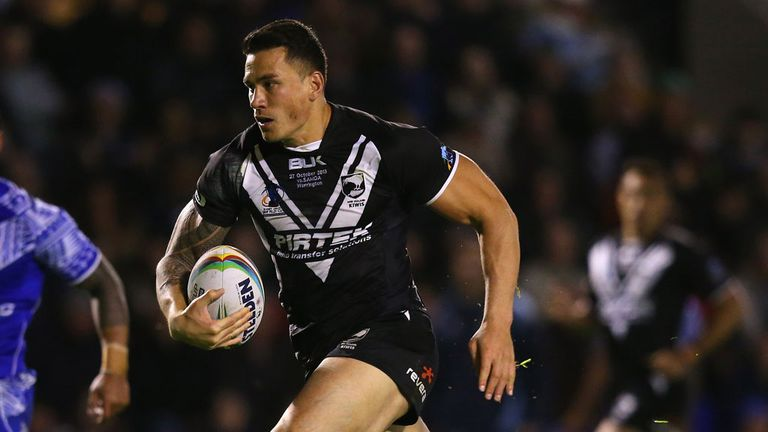 Sonny Bill Williams: Rested against France last week
