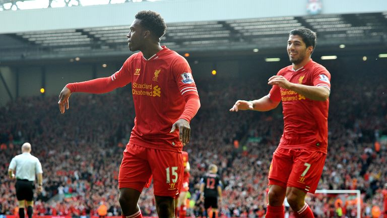 Daniel Sturridge and Luis Suarez: Liverpool strikers in fine form this season