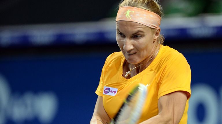 Svetlana Kuznetsova: Through to second round of Kremlin Cup in Moscow