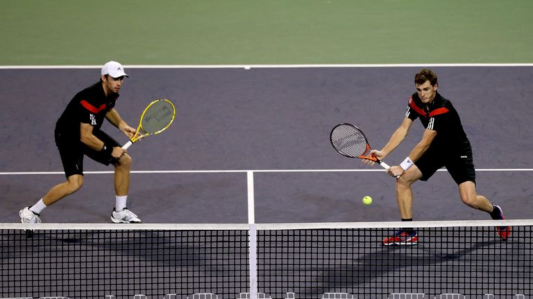 Jamie Murray (right): London hopes ended