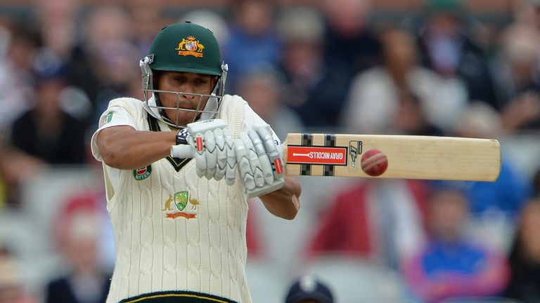 Usman Khawaja: sought advice on the matter from world No 1 Test batsman Hashim Amla