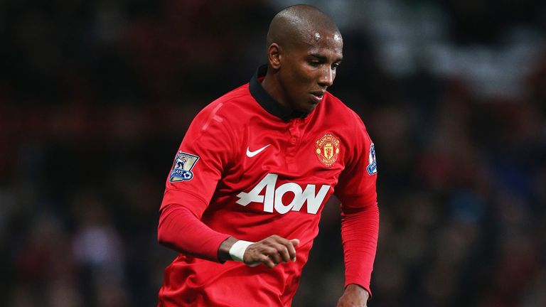 Ashley Young: Manchester United winger won penalty but Robin van Persie failed to convert it
