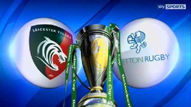 Leicester v Treviso - Highlights