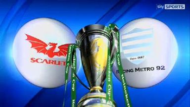 Scarlets v Racing Metro - Highlights