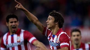 Oliver Torres: Made an immediate impact for Atletico Madrid