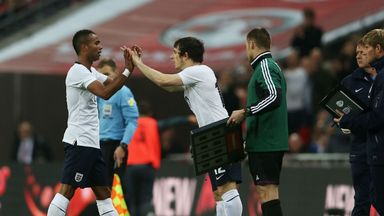 Ashley Cole and Leighton Baines: Vying for left-back slot at the World Cup for England