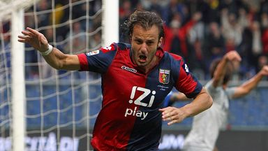 Alberto Gilardino: Happy with life at Genoa