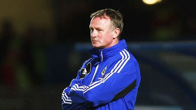 Michael O'Neill: Northern Ireland boss is seeking a winning mentality