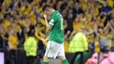 Robbie Keane is nursing an ankle problem