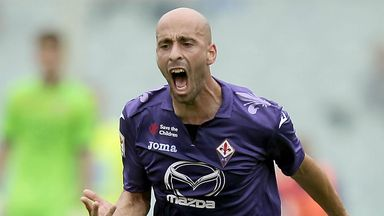 Borja Valero: Happy at Fiorentina and grateful to fans