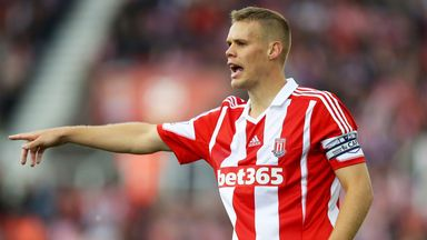 Ryan Shawcross: Praised by Mark Hughes as he prepares to make club history