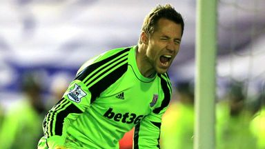 Thomas Sorensen: Agrees a new one-year deal with Stoke