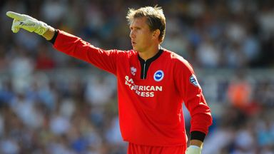 Tomasz Kuszczak: Hoping to grace the top level with Brighton