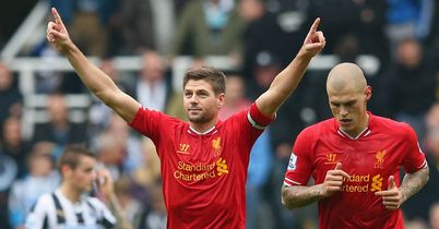 Steven Gerrard: Liverpool captain still aiming to get forward