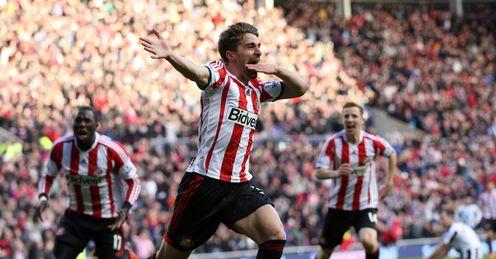 Fabio Borini: Celebrates scoring against Newcastle during his first spell