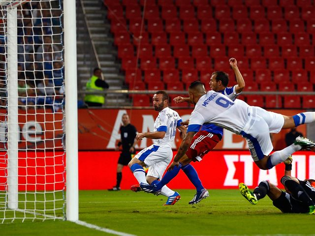 Dimitris Salpigidis scores for Greece