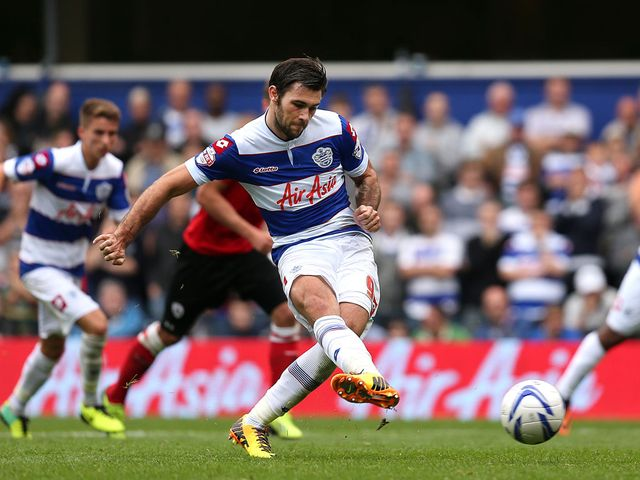 Charlie Austin netted both goals in QPR win
