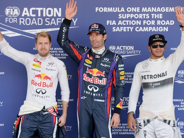 Mark Webber: On pole for the Japanese Grand Prix