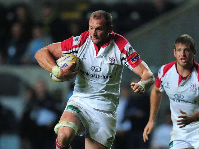Dan Tuohy: Two tries for Ulster