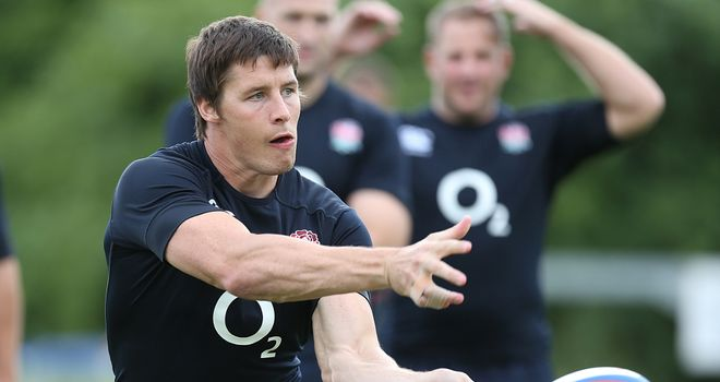 Joel Tomkins: Earned his place in the England squad for autumn internationals
