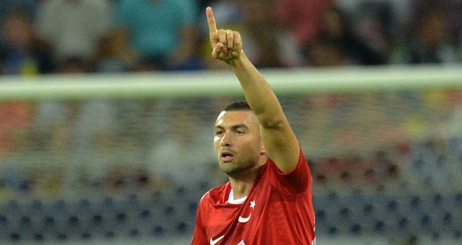 Burak Yilmaz: Was on the scoresheet for Turkey