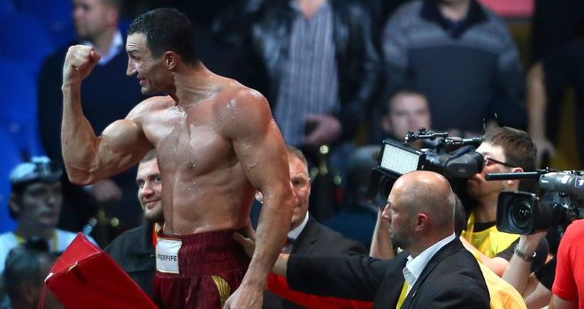 Wladimir Klitschko: Ukrainian targets WBC heavyweight crown