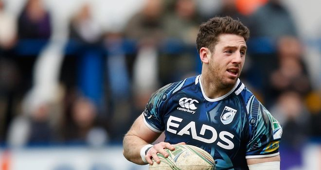 Alex Cuthbert: Is hoping Cardiff Blues can become the first side to beat Toulon on home soil in the Heineken Cup