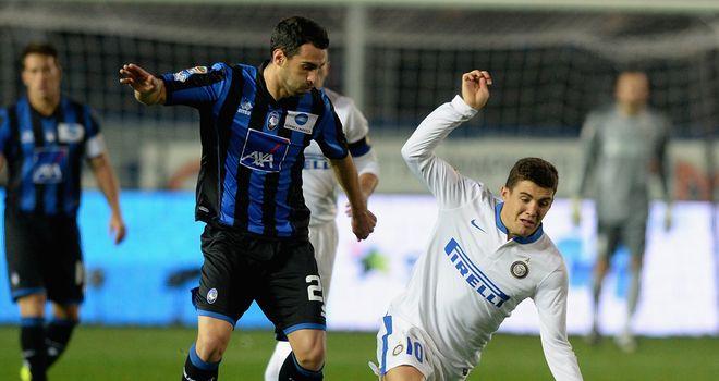Mateo Kovacic falls to the ground