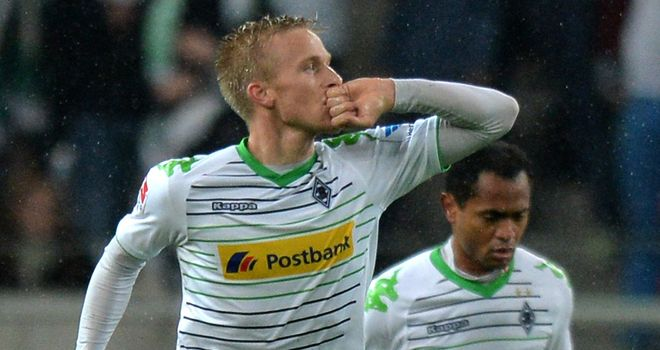 Oscar Wendt: On target for Gladbach