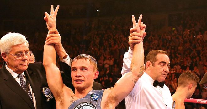 Carl Frampton: One of the best pound-for-pound fighters in the world says former sparring partner