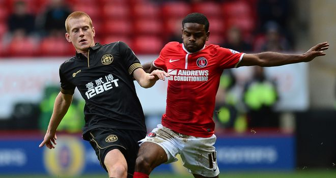 Bradley Pritchard (right): Had a decent chance for Charlton