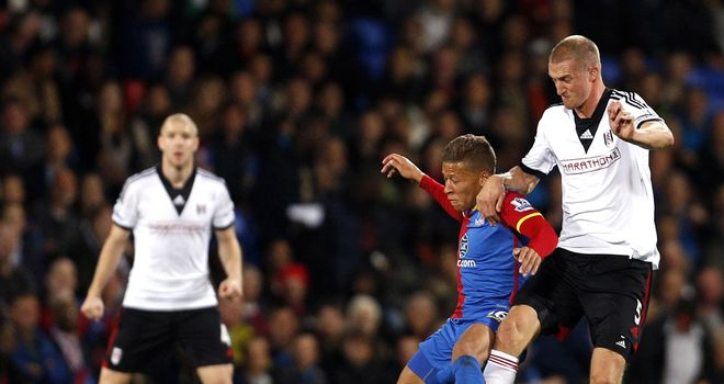 Dwight Gayle: A night to forget in front of Palace goalscoring royalty Ian Wright & Mark Bright