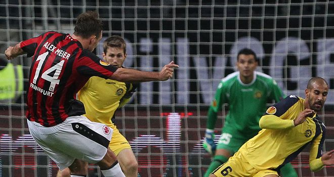 Alexander Meier: In action for Eintracht Frankfurt