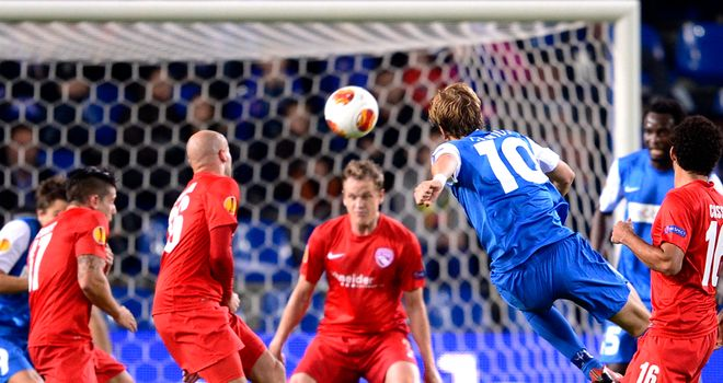 Julien Gorius: Scores goal for Genk against Thun