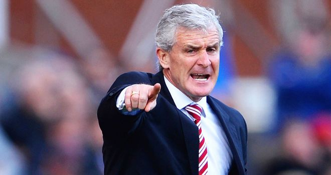 Mark Hughes: Wants a late birthday present