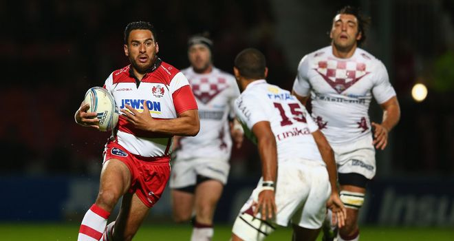 Huia Edmonds: Returns to the Gloucester starting line-up after injury