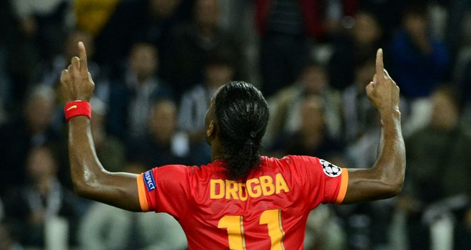 Didier Drogba: Rounded off the scoring for Gala
