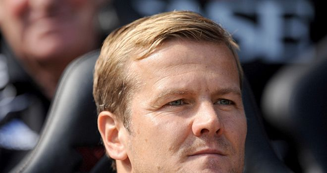 Mark Cooper: Delighted with striker's impact