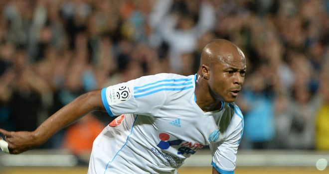 Andre Ayew: Secured win for Marseille