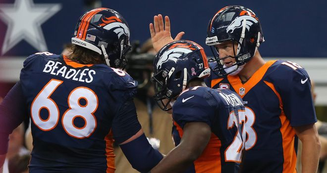 Peyton and Co: driving the Broncos onwards and upwards...