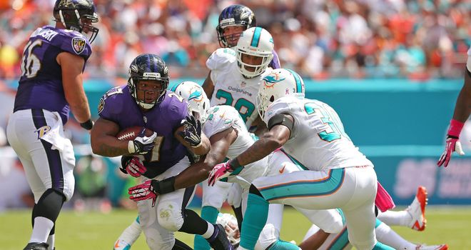Miami and Baltimore in the hunt for the final AFC place