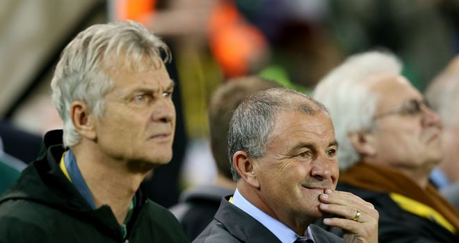 Noel King: Interim Republic of Ireland boss watches on in Dublin