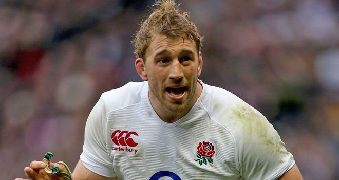 Robshaw: all round game makes him a good no.7