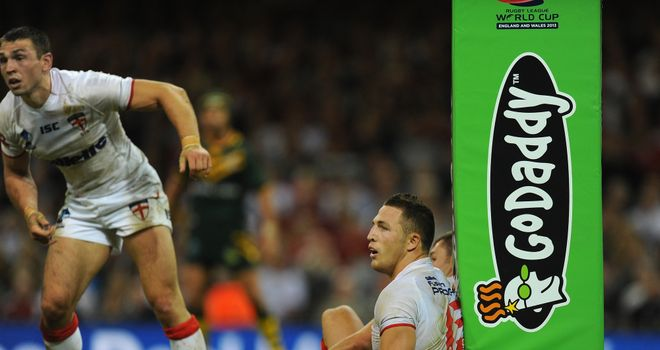 Sam Burgess: Out of Ireland game