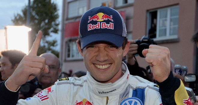 Sebastien Ogier: victory on home soil for the Frenchman