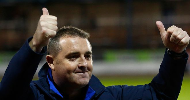 Steve McCormack: Has been Scotland's head coach since 2004.