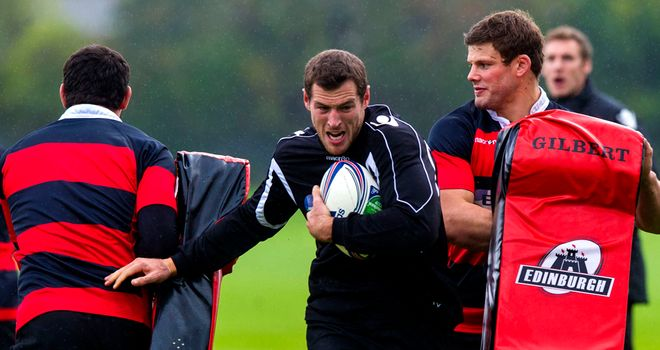 Tim Visser: No training camp for injured Scotland winger