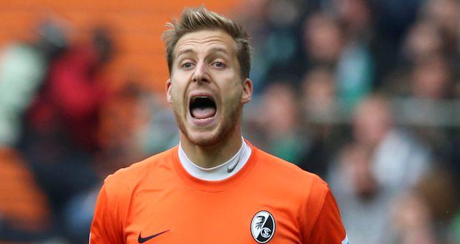 Freiburg goalkeeper Oliver Baumann