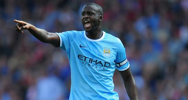 Yaya Toure: Happy to see Vicent Kompany return to the fold