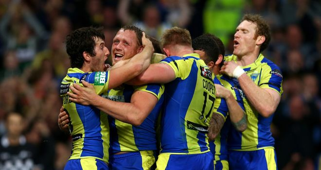 Ben Westwood: Scored a try during Warrington's defeat